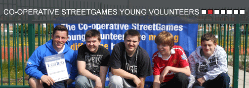 The Co-operative StreetGames Young Volunteers