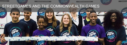StreetGames and the Commonwealth Games
